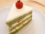 フルーツトマトのショートケーキ (420円)
