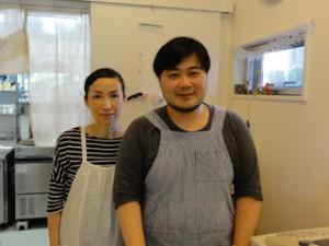 オーナーの芦澤夫妻