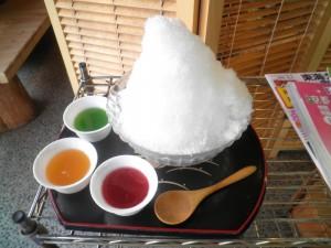 3色氷 450円
